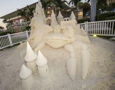 Sand Sculptures @Downtown West Palm Beach #PalmBeaches #Florida