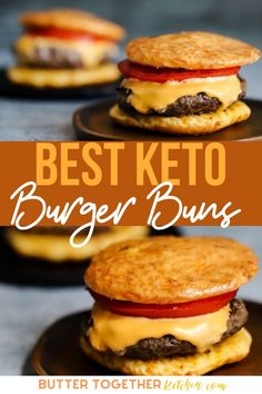 These Keto Buns from Butter Together Kitchen are easy and convenient to make with very few ingredients! Sturdy Keto Buns that taste great. Best Keto buns you make! #ketobuns #ketobread #lowcarbbread #lowcarbbuns #ketorecipes