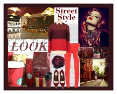 """""""Afternoon Coffee"""" by michellelynn007 ❤ liked on Polyvore featuring Oris, dVb Victoria Beckham, Orla Kiely, Marc by Marc Jacobs, Alexander McQueen, Proenza Schouler, Chanel, Yves Saint Laurent, OXO and NARS Cosmetics"""