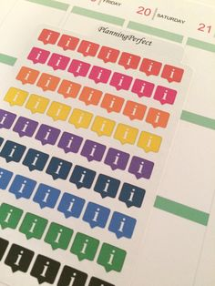 Information Tab Stickers for Erin Condren by PlanningPerfect  #planner #stickers #erincondren #lifeplanner #kikkik #plumpaperplanner #filofax #planning #scrapbook #information #important #tab