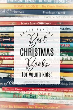 Check out our list of the best Christmas Books for Kids this holiday season. Everything from the Classics to the newest releases featuring popular characters. Books ideal for beginning readers like toddlers, preschoolers and those in kindergarten too! Children will love reading these holiday books at home and in the classroom!