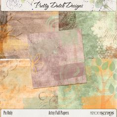 Artsy Fall Papers :: Papers :: Memory Scraps