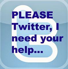Looking for Blue Sky: Please Twitter...