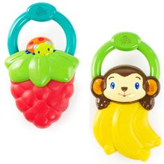 Bright Starts Vibe Teether Assortment available online at http://www.babycity.co.uk/