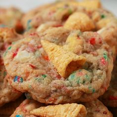 Unicorn Cookies I am the Cookie contest winner for Tasty! So happy my cookies were selected! Cookie Recipes, Dessert Recipes, Unicorn Cookies, Chip Cookies, Just Desserts, Food Videos, Sweet Tooth, Sweet Treats, Tasty
