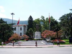 Statue of Atatürk in Bursa