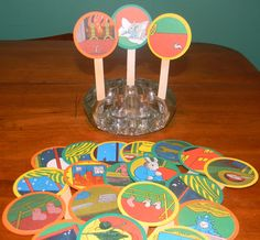 Goodnight Moon Cupcake Toppers