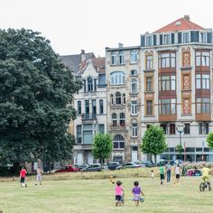 VISIT THE ART NOUVEAU DISTRICT at Schaerbeek! Called one of the most stunning Art Nouveau streets. Take the 92 tram from the Royal Palace (Schaerbeek direction) and getting off at Herman Station to reach Avenue Louis Bertrand.