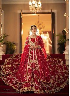 Pakistani Wedding Outfits, Pakistani Wedding Dresses, Pakistani Dress Design, Wedding Attire, Lehenga Wedding, Pakistani Girl, Pakistani Actress, Gown Wedding, Indian Outfits