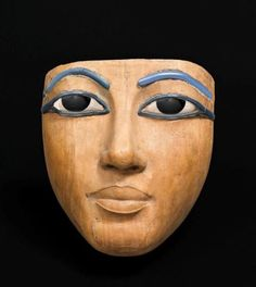 Wooden coffin mask, Dynasty XVIII (ca. 1550-1295BCE) MOD 2
