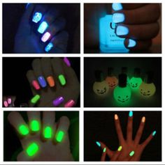 Glow Nails. I want some :)