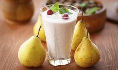 Ricette fai da te per colazione e merenda: smoothies pera e zenzero
