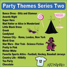 Party Themes-hubb pages