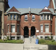 Twin Houses, 517 Pine Avenue, Montreal.    Built in 1899