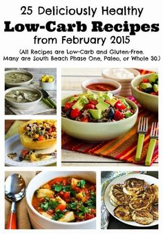 25 Deliciously Healthy Low-Carb Recipes from February 2015 (Gluten-Free, SBD, Paleo, Whole 30) [from KalynsKitchen.com]