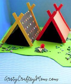 Mini Camping Set | Fun Family Crafts