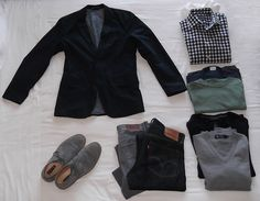 Dressed Down: The Well Dressed Traveller's Packing List