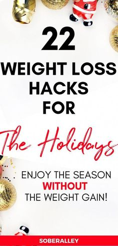 Holiday Weight Gain: 22 Weight Loss Hacks to avoid holiday weight gain. Holiday Weight Gain: 22 Weight Loss Hacks to avoid holiday weight gain. Weight Loss Snacks, Weight Loss Goals, Fast Weight Loss, Weight Loss Program, Healthy Weight Loss, Weight Gain, Diet Plans To Lose Weight, Losing Weight Tips, How To Lose Weight Fast