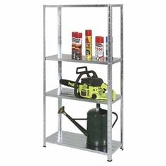 H: W: D: Ideal for home or workshop. per shelf capacity. Shelf Brackets, Particle Board, Ladder Bookcase, Storage Organization, Shoe Rack, Beams, Workshop, The Unit, Shelves