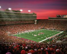 The Nebraska Cornhuskers represent the University of Nebraska–Lincoln in college football.