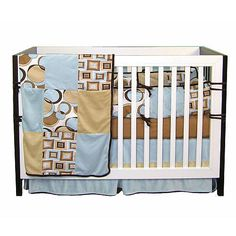 BABY A Teal Crib Concepts