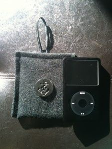 iPod/iPhone Case from a Wool Coat