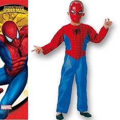 Disfraz de Spiderman con serigrafía #disfraces #spiderman #infantil #carnaval