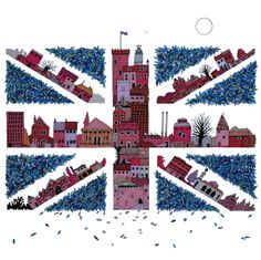"Saatchi Online Artist: Andrew Sudell Davis; Pen and Ink, 2012, Drawing ""Is It OK To Be British Again, Yeah?"""