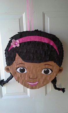 Doc Mcstuffins pinata made at Outside the Lines Art Studio.