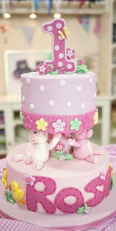 Cute Farmyard Cake
