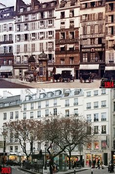 Paris Then and Now: Rue d'Aboukir