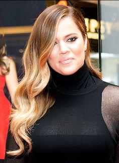 Loving Khloe Kardashian soft waves