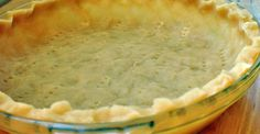 This is one of the easiest pie crust recipes I've EVER come across.