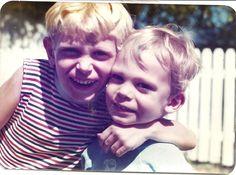 Aaron & Richard Schmude  August, 1977
