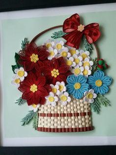 Neli Quilling, Quilling Ideas, Quilling Flowers, Quilling Cards, Quilling Designs, Paper Flowers, Paper Art, Paper Crafts, Paper Magic