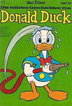 Die Tollsten Geschichten von Donald Duck 24 Disney Cartoon Characters, Disney Cartoons, New Ducktales, King Koopa, Cute Piglets, Looney Tunes Bugs Bunny, Disney Duck, Jesus Painting, Donald Duck