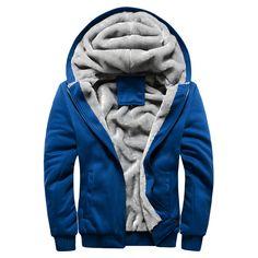 Купить товарGrandwish мужские Толстовки С Капюшоном Плюс Размер 5XL Мужская Hiooded Пальто Шерстяное Зима Мужчины Твердые Толстовки Кофты Повседневная, PA005 в категории Толстовки и кофтына AliExpress.    Grandwish Winter Thick Inner Wool Hoodie Men Hat Casual Active Suit Men Zipper Exercise Suits Men Outwear Plus Size 5