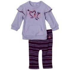 Hurley Baby-girls Newborn Hoodie Creeper Set $23.80