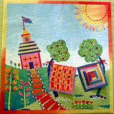 Learn to Hand Quilt in Craftsy's Hand-Stitched Collage Quilts