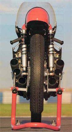 Mike Hailwoods' Honda RC166...