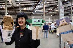 Maker Faire: Star Wars Crafts | MAKE..need to do this with my future kids