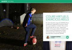 Cours virtuels, exercicesréels - La Presse+ Coaching, Sports, Class Schedule, Workout Challenge, Exercises, Training, Hs Sports, Sport