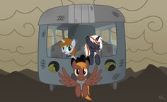 """My boredom presents: """"Wanderers to the Core"""", a Fallout Equestria parody ofApples to the Core. [Velvet] We travel the road of generations Joined by a common bond We sing our song 'cross the p..."""