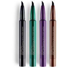 Beauty Essentials Hearty Black Double-headed Eyeliner Pencil With Miss Stamp Seal Maquiagem Waterproof Wing Eye Liner Cosmetics Unequal In Performance Eyeliner
