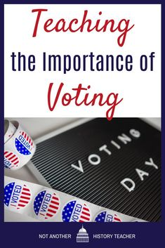 In teaching about the voting process, encourage your students to learn about the history of voting in our country. Encourage your students to understand the issues and not to make a decision based upon the media's portrayal of the candidates. They may be surprised by what they find. The more information you learn about the candidates, the more they will understand the power they wield as voters. #voters #government #notanotherhistoryteacher #elections #election2020