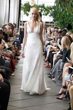 Robe de mariée longue Harold - Automne Hiver 2015 - New York - Delphine Manivet