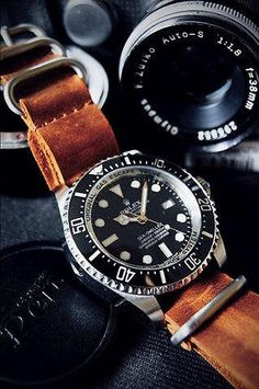 Rolex x Leather strap