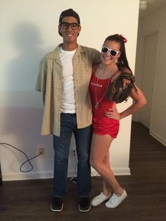 Wendy Peffercorn and Squints from the sandlot - couples Halloween costume  sc 1 st  Pinterest & Sandlot. Squints and Wendy Peffercorn.   Costumes   Pinterest ...
