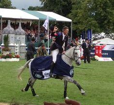 Andrew Nicholson, Burghley 2012 Winner.