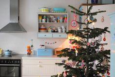 Mor til MERNEE: Juletræ og fint besøg.....